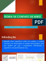 Teoria de Contato de Hertz