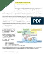 Analise Bioquímica (exames)