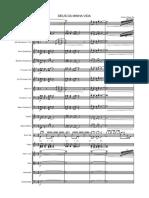 Deus Da Minha Vida - Talles - Score and Parts