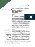 A - CRUZ ET AL - 2021 - Analise de parametro normatizado para projeto de estruturas de madeira considerando a confiabilidade estrutural