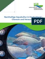 IGB Policy Brief - Nachhaltige Aquakultur Chancen und Herausforderungen 2020