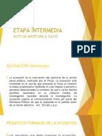 ETAPA INTERMEDIA (1) PROCESAL PENAL 2