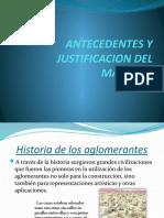 ANTECEDENTES Y JUSTIFICACION DEL MATERIAL