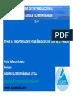 Tema 3 Propiedades Hidraulicas de Los Acuiferos