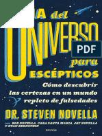 「Novella, Steven & AA., VV.」 Guía Del Universo Para Escépticos (Paidós)