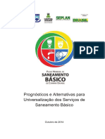 SANEAMENTO BASICO - Prognósticos e Alternativas para a Universalização dos Serviáos de Saneamento B†sico de Campina Grande