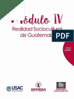 Moìdulo IV Curso Realidad Sociocultural de Guate