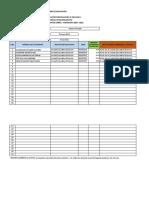 Matriz calificaciones Estudiantes FDA-BGU SIERRA 1ro Mukuink