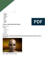 Carrara 6 Intermediate Skin Shaders - ArtZone Wiki