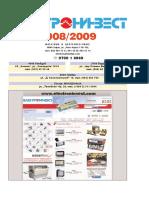 Katalog Electroninvest 2008-2009