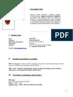 Dossier Candidature. Cons Tech Junir. GIZ. C.V. et Let de Mtv. Juil 2021