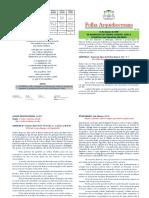 Folha Arquidiocesana N.26-2