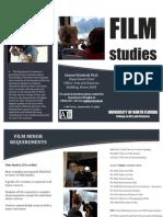 Film Studies Minor - Brochure Design