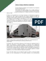 Intervención de Skidmore, Owings & Merrill en Guatemala