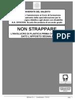 Salento 2019-2020 II Grado