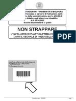 Bologna 2014 2015 Secondaria II Grado