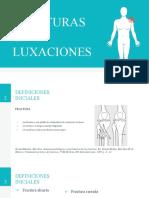 1. Generalidades de Fracturas y luxaciones