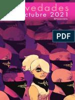 Novedades Planeta Comic Octubre 2021