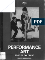 Roselee Goldberg -Performance Art