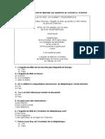 3.- A1 c. écrite - l´aiguille du Midi - connexions 1