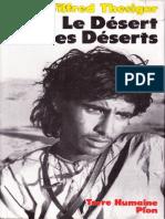THESIGER 'LE DÉSER DES DÉSERTS'