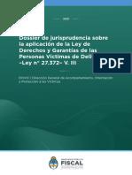 Dossier Jurisprudencia Dchos y gtias victimas de delitos -2021