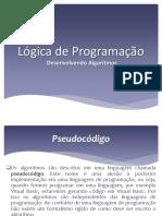 Lógica de Programação 2