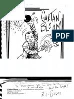 Gaetan Bloom - Notes 1999