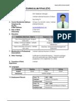 Ngo Dang Tri ADB CV-Format-Individual-10June08