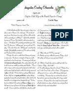 Newsletter 4.8.11