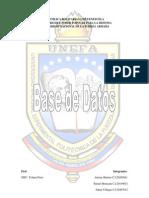 Bases de Datos 5to Sem Ing Sistemas