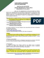 09.09.2021 - Prefeitura Municipal Garopaba (SC) PP 03.2021