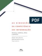 As Dimensoes da Competencia em Informacao