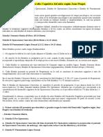 Estructura y Fases del Desarrollo Cognitivo Piaget