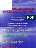 2.- COMPLICACIONES AGUDAS DIABETES MELLITUS
