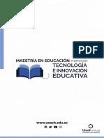 Maestría en Educación Mención Tecnología e Innovación Educativa