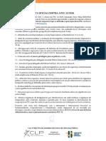 Nota Oficial Contra a PEC 32