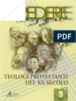Credere Oggi. Teologi Protestanti Del XX Secolo by AA.vv