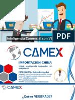 Inteligencia Comercial VERITRADE CAMEX 8 de Julio