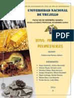 Informe de Minerales Polimetálicos
