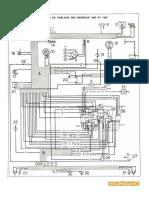 esquemas de cableado Renault 4