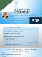 Struktur Einer Deutschstunde