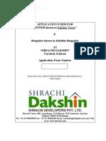 Shrachi_Dakshin_Application_Form