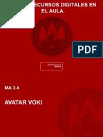 Voki, aplicación