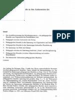 Pädagogisches Handeln in den Antinomien der Moderne, von Werner Helsper
