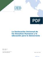 Declaracion Univ. de Los Derechos Humanos