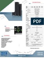 Catologo MGX TRIFASICO 60-200KVA