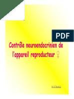 controle neuro-endocrinien de l_app gen. fem.(C.M.)