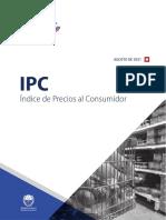 Índice de Precios en la provincia - Agosto 2021