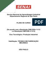 Pc Ct Fabricacao Mecanica - 1500h - 4sem